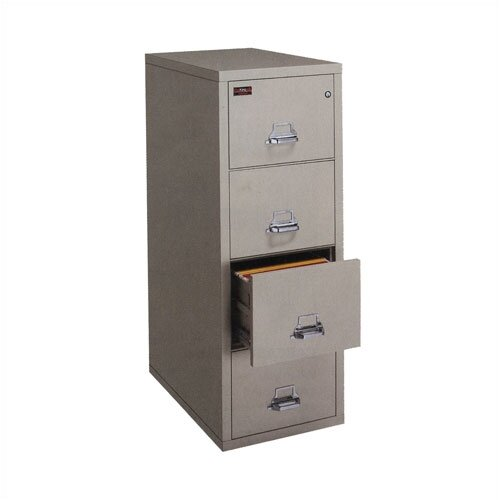 Virco 4-Drawer Fire-Resistant  Legal File