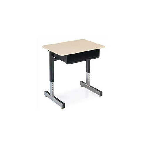 "Virco 30"" Laminate Open Front Student Desk"