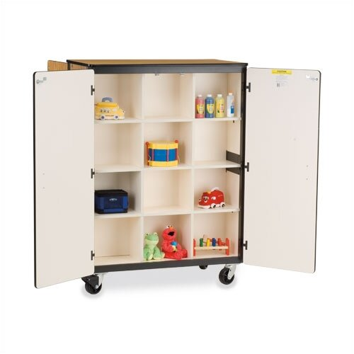 "Virco 48"" Mobile Storage Cabinet"