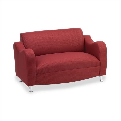 Virco Plush Reception Love Seat