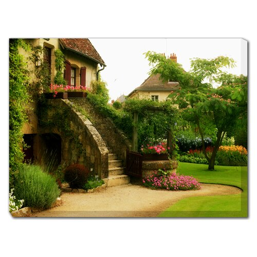 West of the Wind Outdoor Canvas Art L'Escalier Photographic Print on Canvas