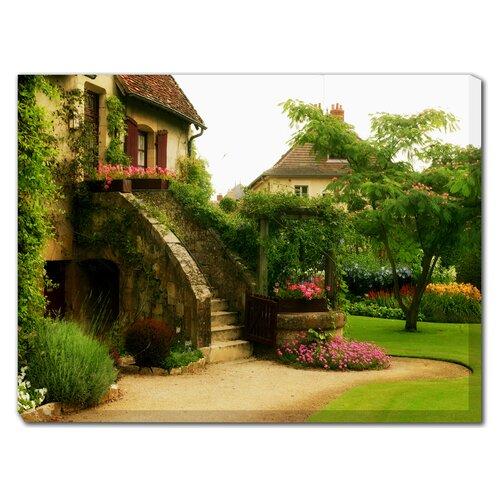 L'Escalier Photographic Print on Canvas
