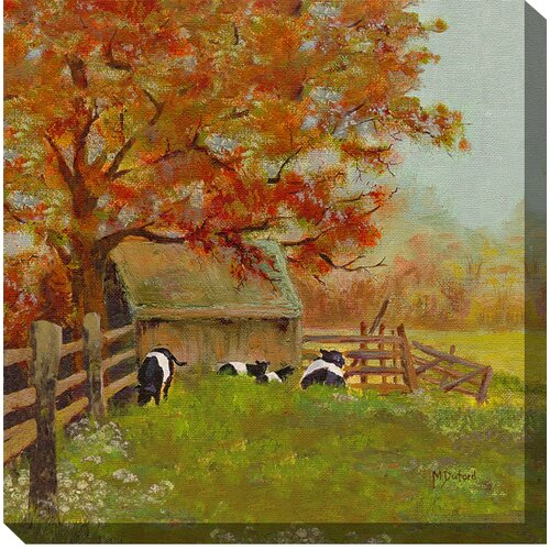 West of the Wind Outdoor Canvas Art Saturday Morning Painting Print on Canvas