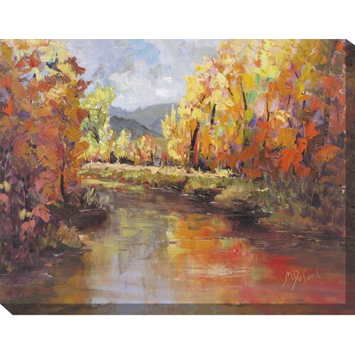 West of the Wind Outdoor Canvas Art Sunday Morning Painting Print on Canvas