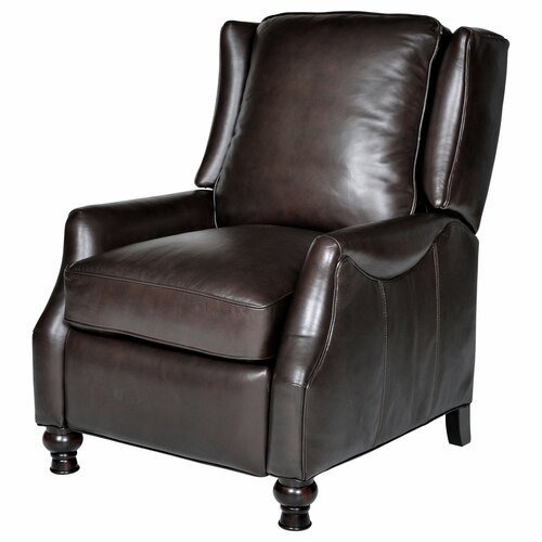 Opulence Home Charles Leather Wing Recliner