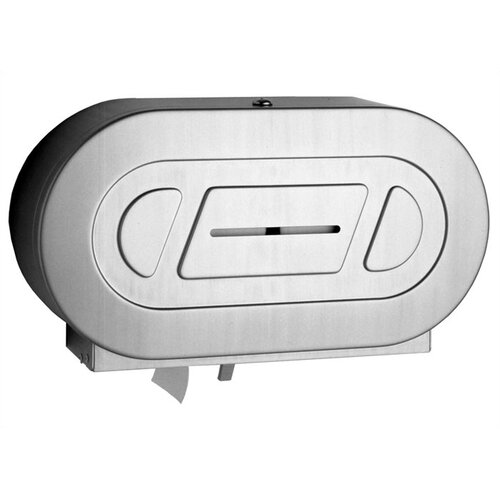 Bobrick Classic™ Series Twin Jumbo-Roll Toilet Paper Dispenser