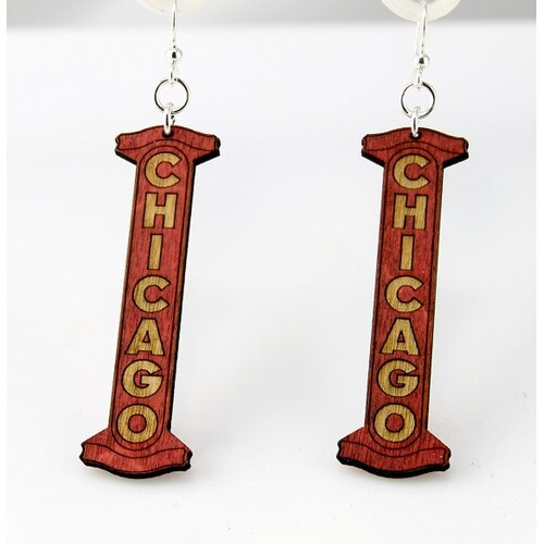Green Tree Jewelry Chicago Earrings