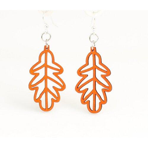 Green Tree Jewelry Fall Leaf Drop Earrings