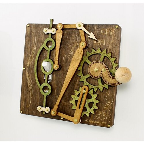 Green Tree Jewelry Single Lever Switch Plate