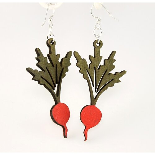 Green Tree Jewelry Radishes Earrings