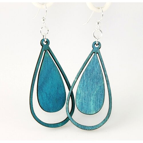 Water Droplet Earrings