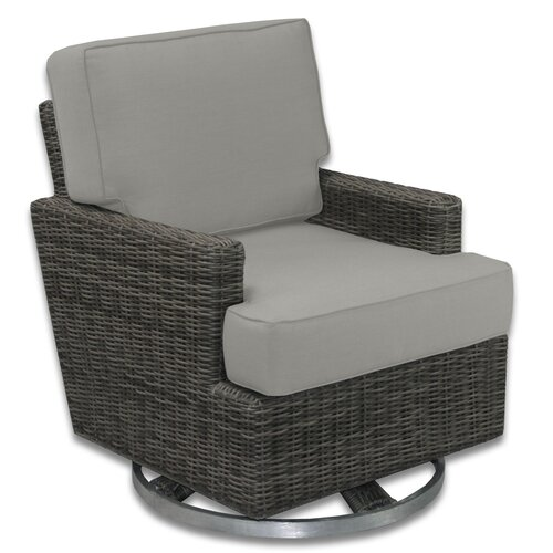 Patio Heaven Palisades Swivel Rocker