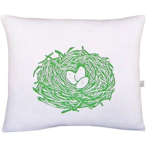 Nest Block Print Squillow Accent Pillow