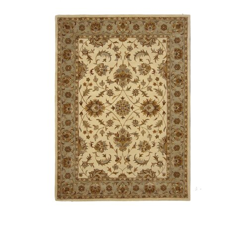 Liberty Oriental Rugs Tempest Ivory/Light Green Rug