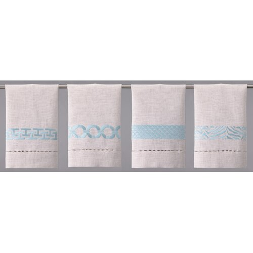 Robin's Egg Linen Hand Towel (Set of 4)