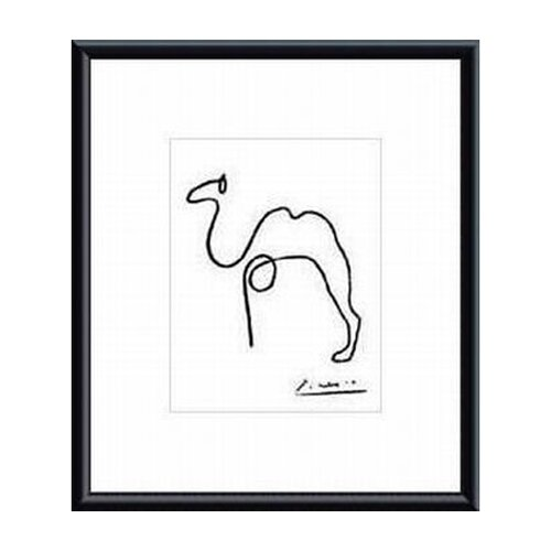 The Camel by Pablo Picasso Framed Painting Print