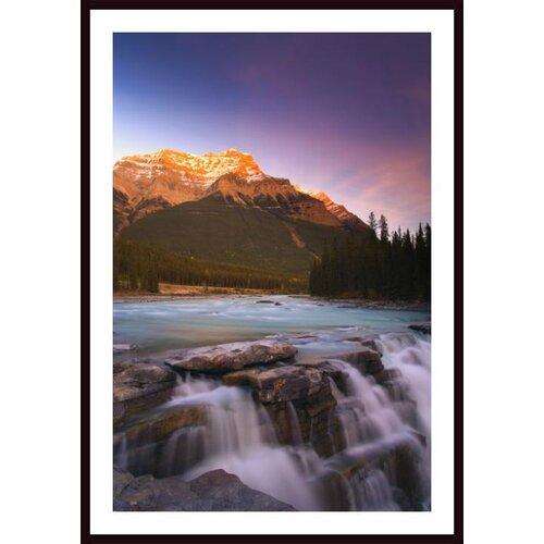 Printfinders Mount Kerkeslin, Jasper National Park, Alberta, Canada by Carson Ganci Framed Photographic Print