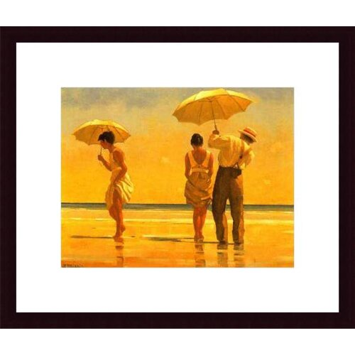 Barewalls 'Mad Dogs' by Jack Vettriano Framed Painting Print