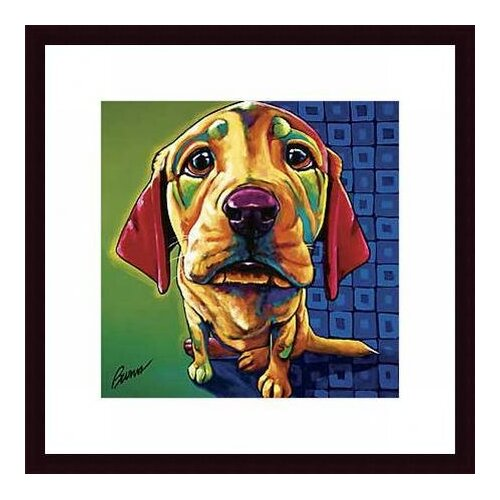 Barewalls Morgan by Ron Burns Framed Painting Print