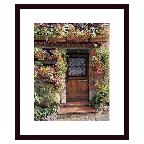 Flower Cottage by Dennis Barloga Framed Photographic Print