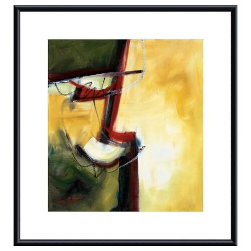 Barewalls 'Intangible' by Eva Carter Framed Painting Print