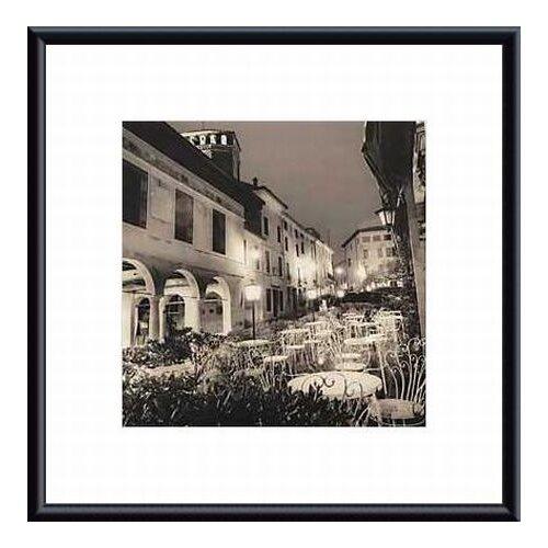 Barewalls Caffe, Asolo, Veneto by Alan Blaustein Framed Photographic Print