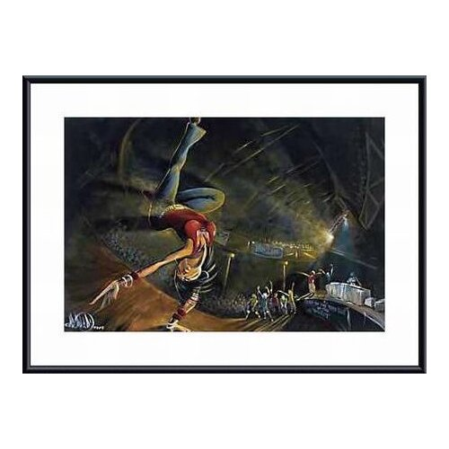 Barewalls B-Girl by David Garibaldi Framed Painting Print