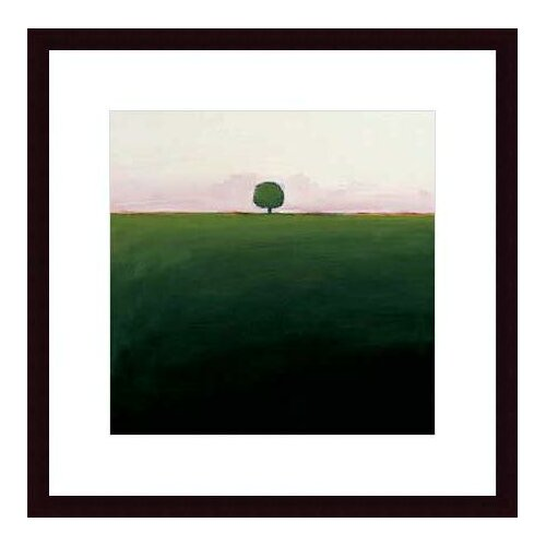 Barewalls 'One in Green' by Ron Rogers Framed Painting Print
