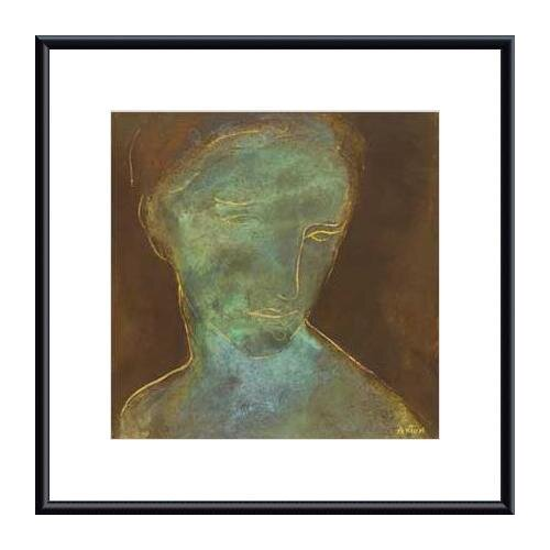 Barewalls Countenance I by Axton Framed Painting Print