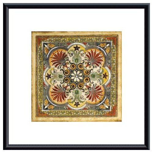 Barewalls 'Italian Tile I' by Ruth Franks Framed Painting Print