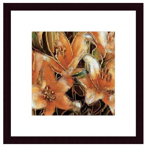 Barewalls 'Apricot Dream II' by Lane Ashfield Framed Painting Print