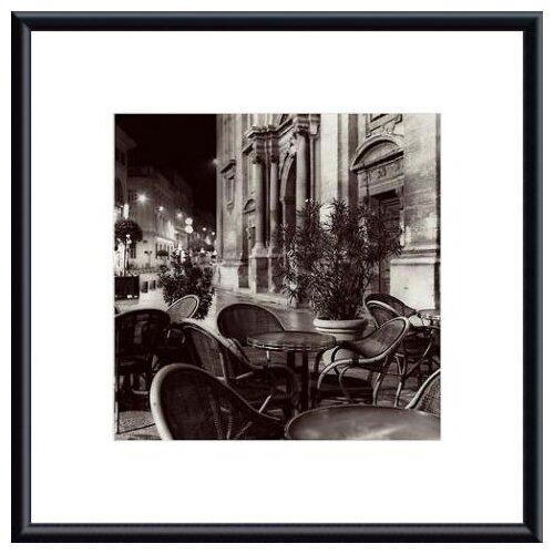 Barewalls 'Cafe, Avignon' by Alan Blaustein Framed Photographic Print