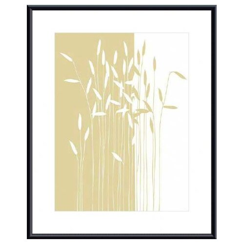 Barewalls 'Reeds I' by Takashi Sakai Framed Graphic Art