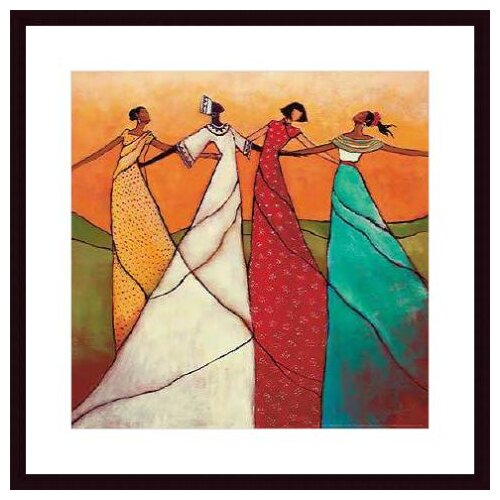 Barewalls 'Unity' by Monica Stewart Framed Painting Print
