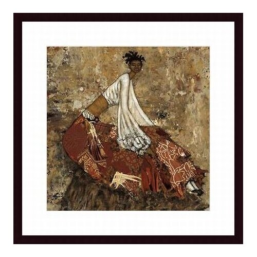 Barewalls 'Serenity' by April Harrison Framed Painting Print