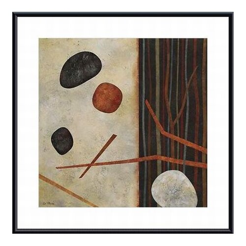 'Sticks and Stones II' by Glenys Porter Framed Painting Print