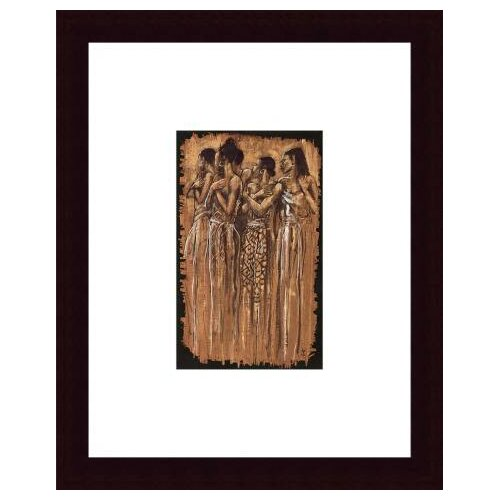 Barewalls Sisters in Spirit by Monica Stewart Framed Painting Print