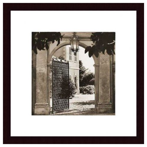 Barewalls Giardino Mortola by Alan Blaustein Framed Photographic Print