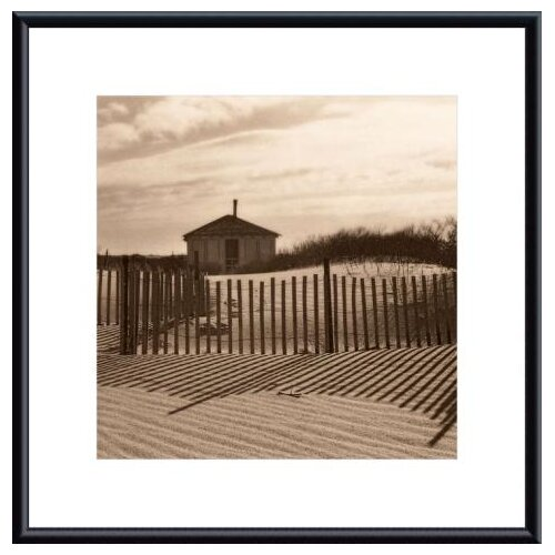 Dune Shack by Christine Triebert Framed Photographic Print