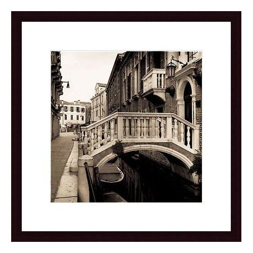 Barewalls Ponti di Venezia No. 3 by Alan Blaustein Framed Photographic Print