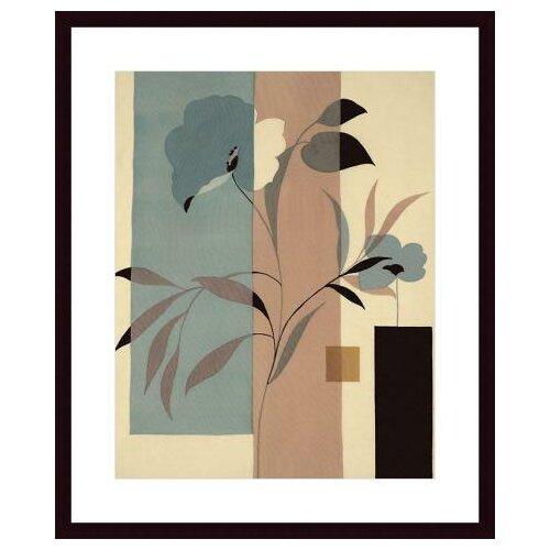Barewalls Fleurs du Matin II by Robert Vernet Framed Graphic Art