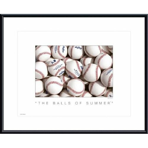 Barewalls The Balls of Summer by Don Marquess Framed Photographic Print