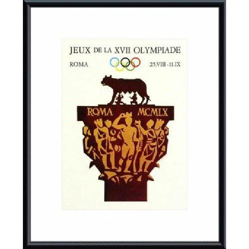 Rome 1960 Framed Vintage Advertisement