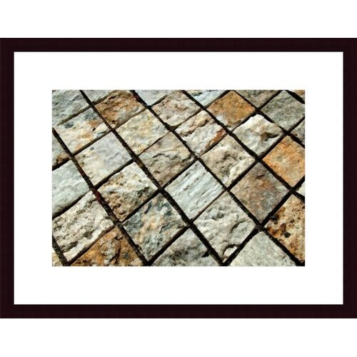 Barewalls Diamond Tiles by John K. Nakata Framed Photographic Print