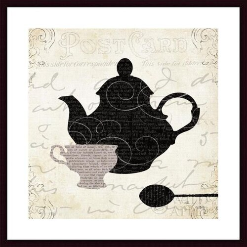 'Cream and Sugar II' by Pela Studio Framed Graphic Art