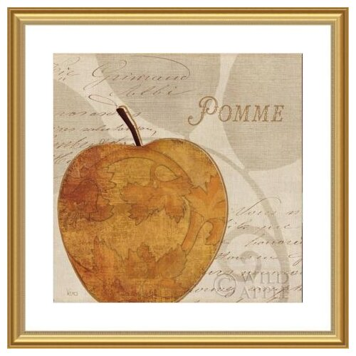 'Royal Fruit III' by Veronique Charron Framed Graphic Art