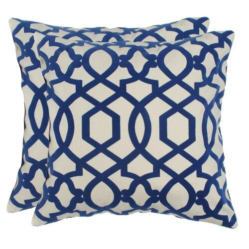 Elisabeth Michael Hampton Cotton Pillow