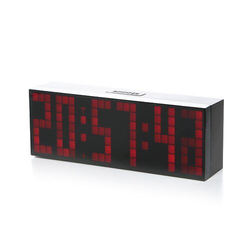Big Time Clocks Lattice LED Digital Alarm / Countdown/Up Clock with Remote