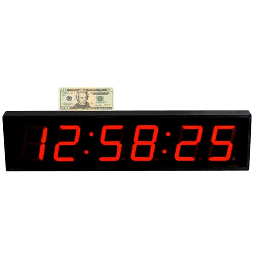 Extra Large 4' LED Digital Clock