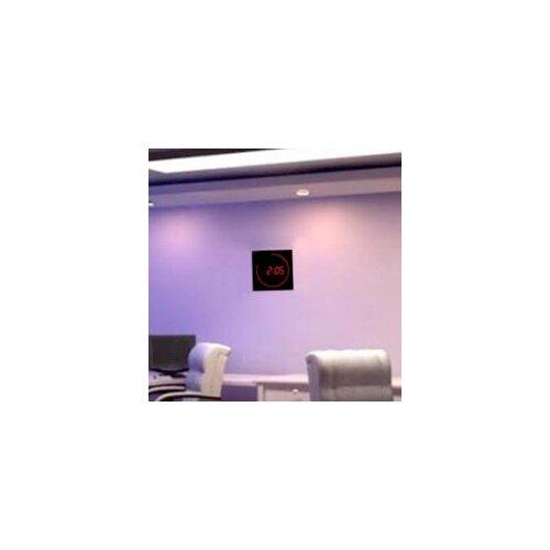 "Big Time Clocks 11"" LED Digital Square Dot Wall Clock"